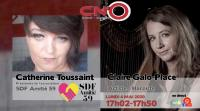 [REPLAY VIDEO] Catherine Toussaint et Claire Galo-Place